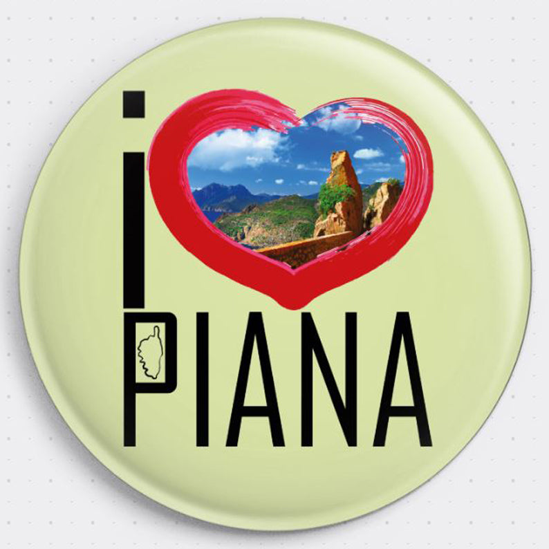 Magnet I Love Piana