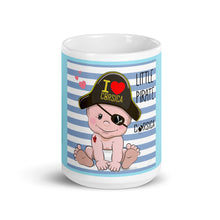 Charger l'image dans la galerie, Mug Blanc Brillant, Little Pirate of Corsica
