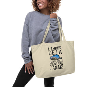 Grand tote bag bio, L'Amour de la Corse