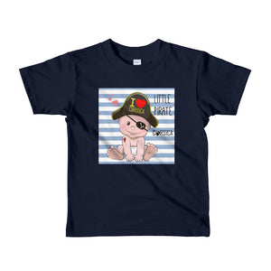 T-shirt à Manches Courtes pour Enfant, Little Pirate of Corsica