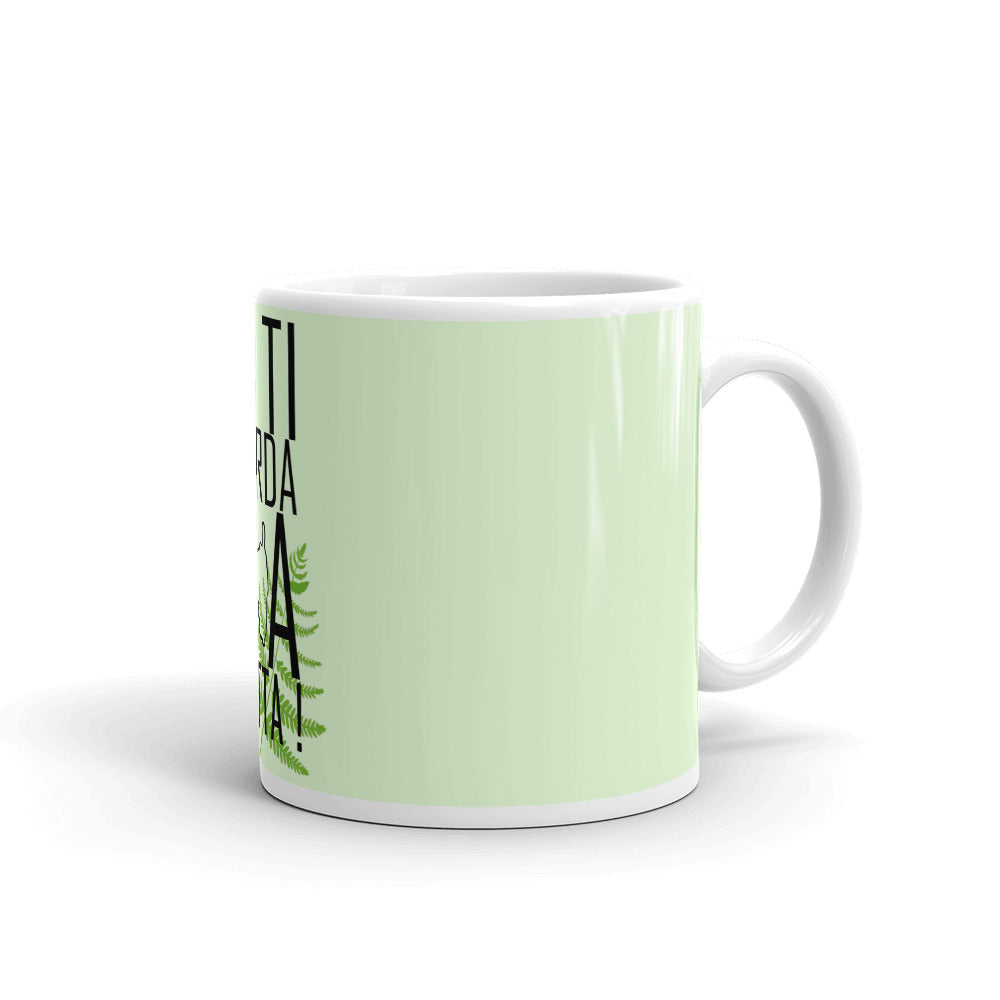 Mug Blanc Brillant, Un Ti Scurda Di A Filetta