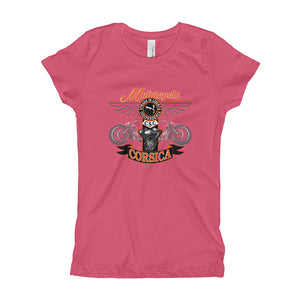 T-shirt pour Fille, Motorcycle Corsica