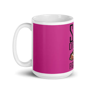 Mug Blanc Brillant Sexe, Drugs & Figatellu