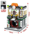 Sembo Mini Street View mit LED Licht, 4 in 1 Set
