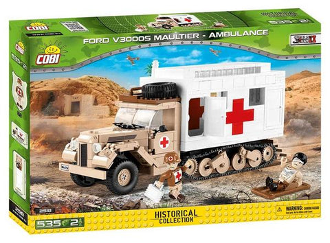 Cobi 2518 Ford V3000 Maultier - Ambulance