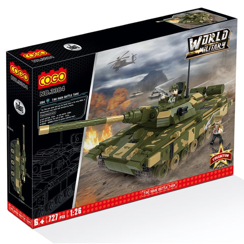 Cogo 3384 T-90 main battle tank