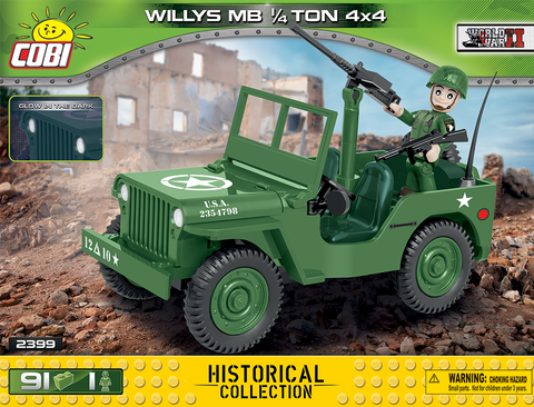 Cobi 2399 Willys MB 1/4 Ton 4x4