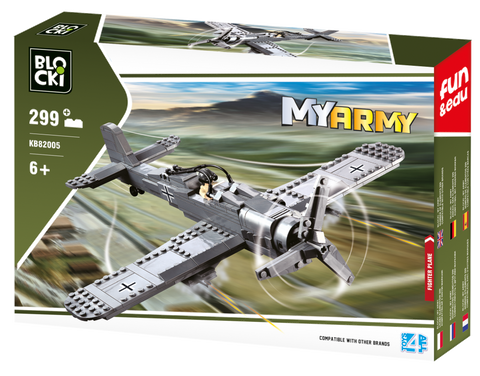 Blocki MyArmy Fighter Plane