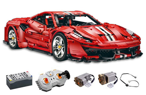 CaDa C61042W - Red Super Car 1:8 inkl. Power System