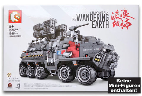 Sembo 107007  Wandering Earth Military Truck CN171