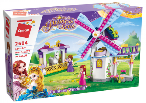 Qman 2604 rainbow windmill