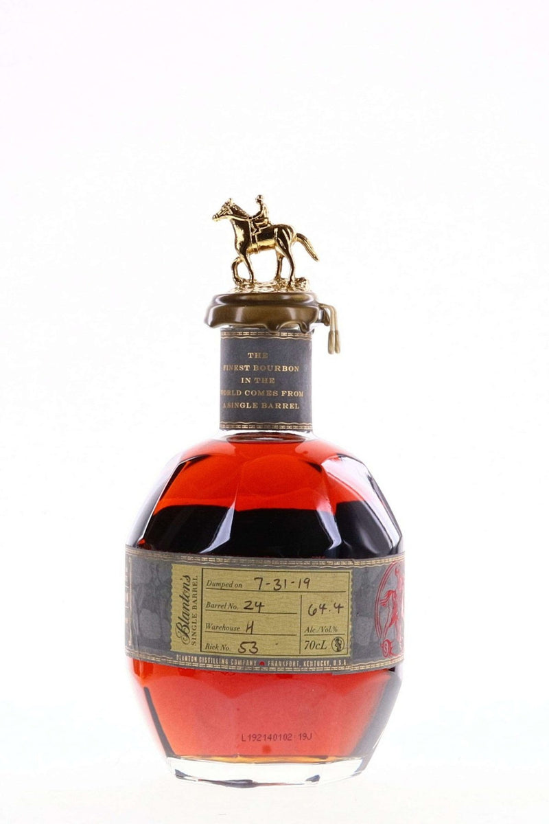 buy Blantons Bourbon 2019 LMDW Limited Edition Single Barrel 64.4% 70cl online at Flask Fine Wine