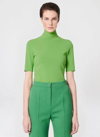 Viscose stretch turtleneck pullover - ESCADA