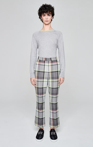 ESCADA Cotton Blend Check Pants