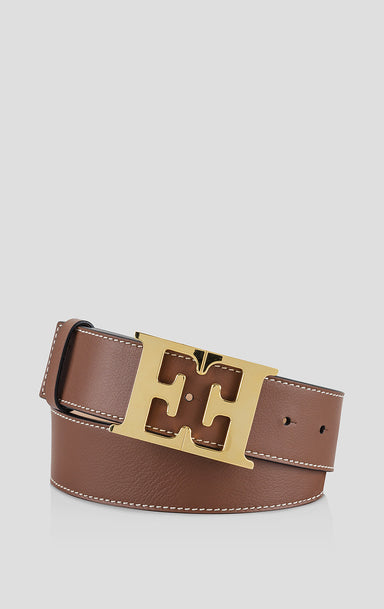Leather Monogram Belt - ESCADA