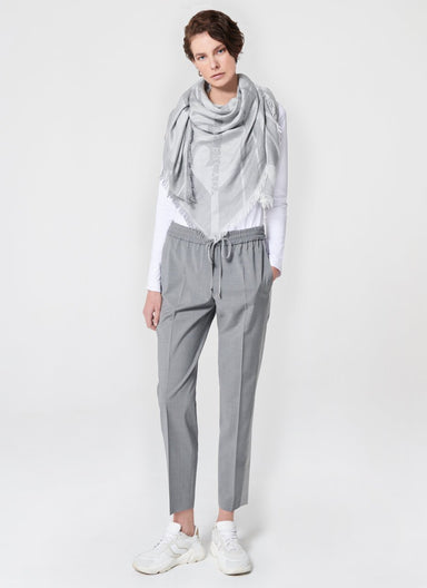 Wool Side Stripe Pants - ESCADA