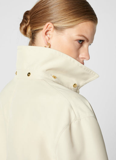 ESCADA Hooded Zip Up Coat