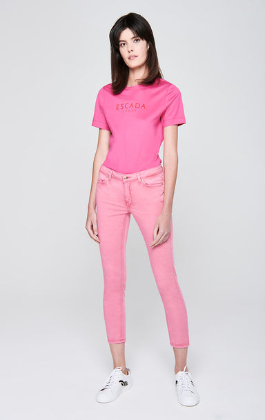 Skinny Colored Denim Jeans - ESCADA