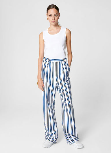 ESCADA Milano Jersey Stripe Pants