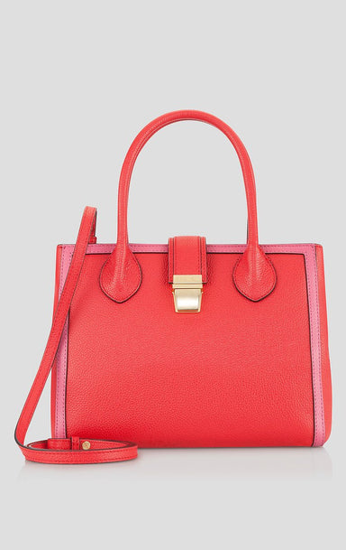 ESCADA Two-Tone Leather Handbag