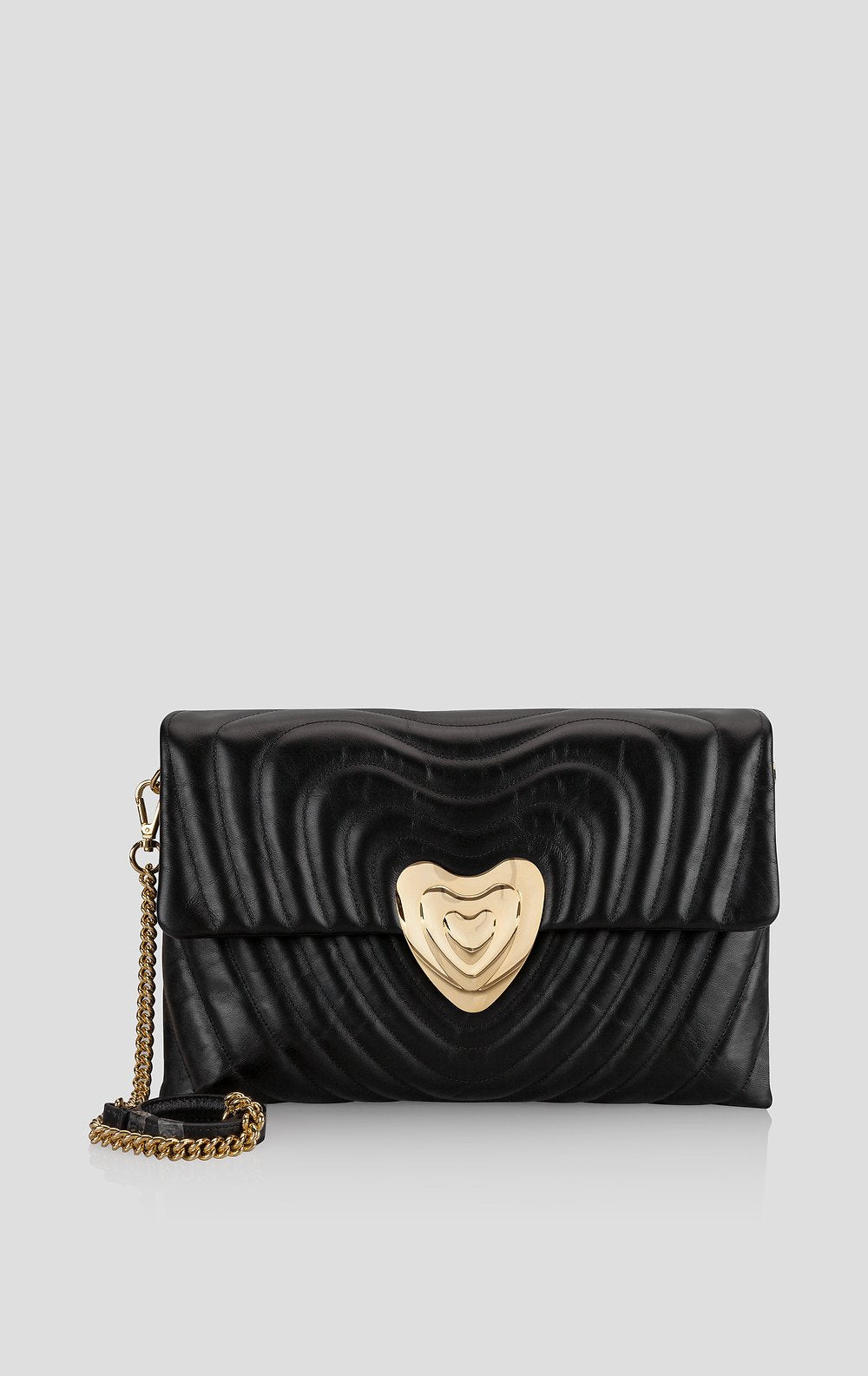 ESCADA Big Leather Heart Bag