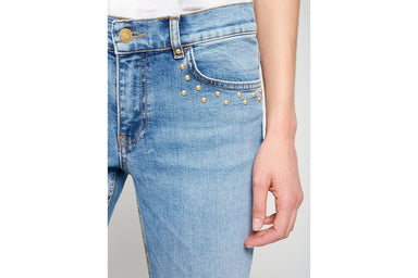 Studded Skinny Ankle Jeans - ESCADA