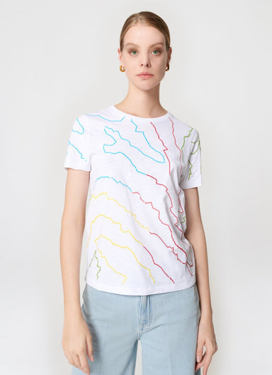ESCADA Embroidered T-shirt