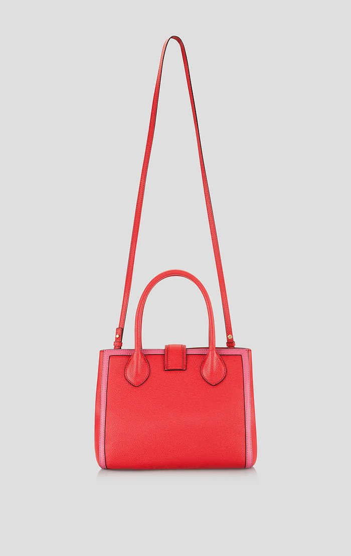 Two-Tone Leather Handbag - ESCADA