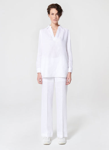 ESCADA Linen Straight Pants