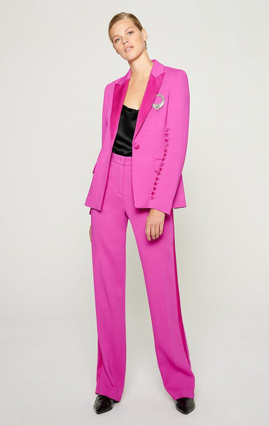 Crepe Straight Pants - ESCADA