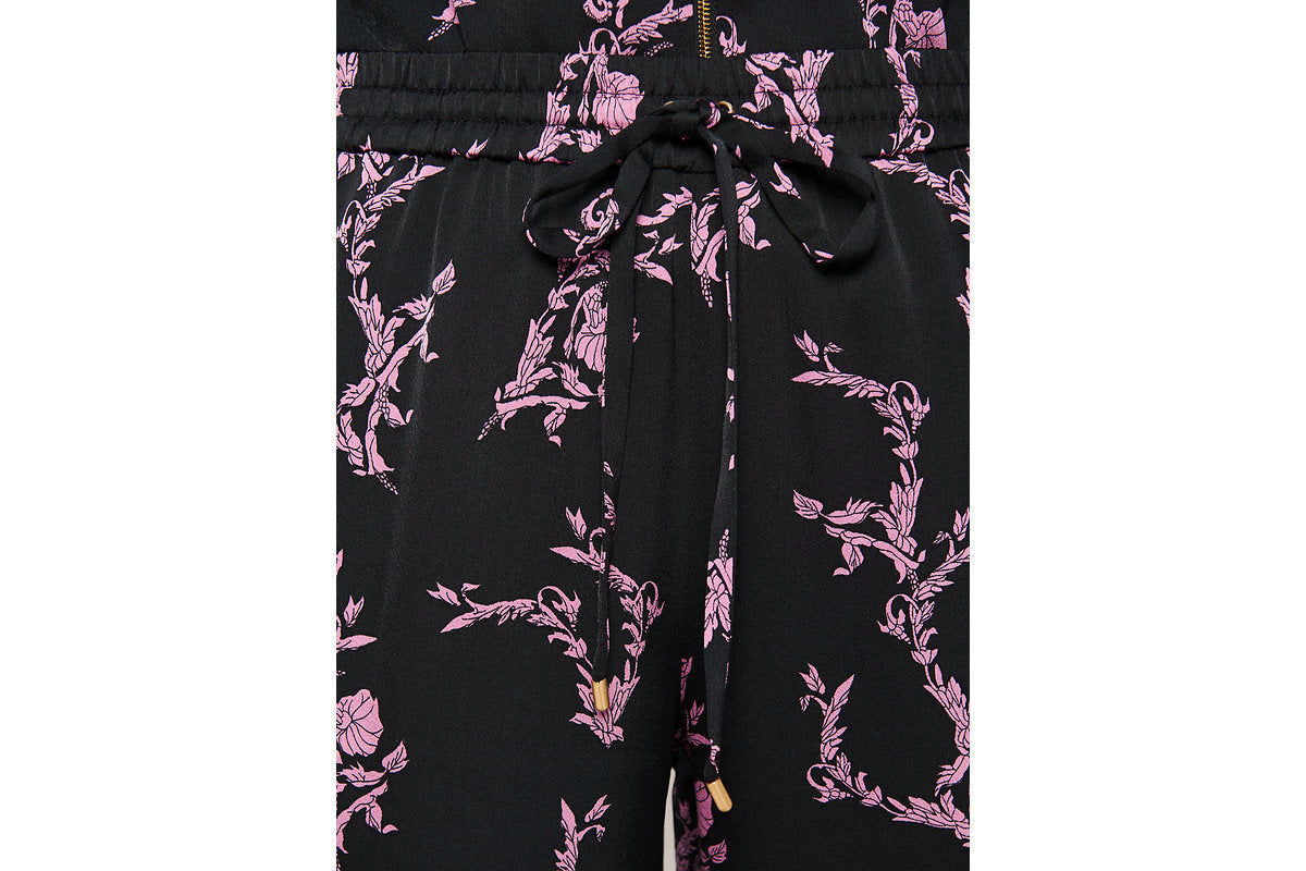 ESCADA Floral Side Stripe Pants