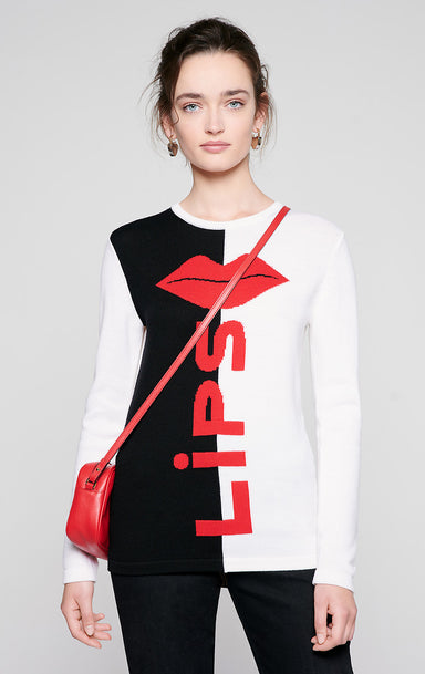 ESCADA Virgin Wool Intarsia Sweater