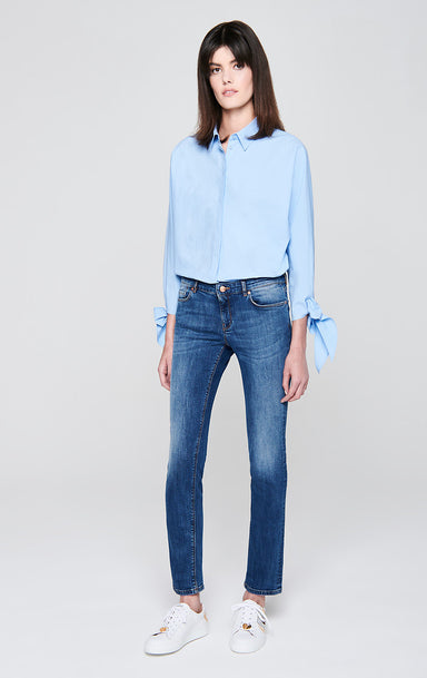 ESCADA Slim Cropped Jeans