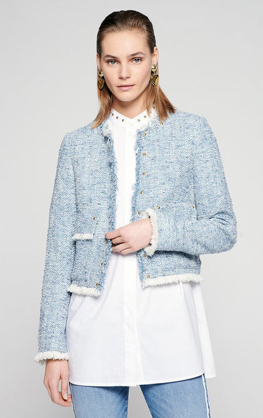 ESCADA Cotton Tweed Jacket