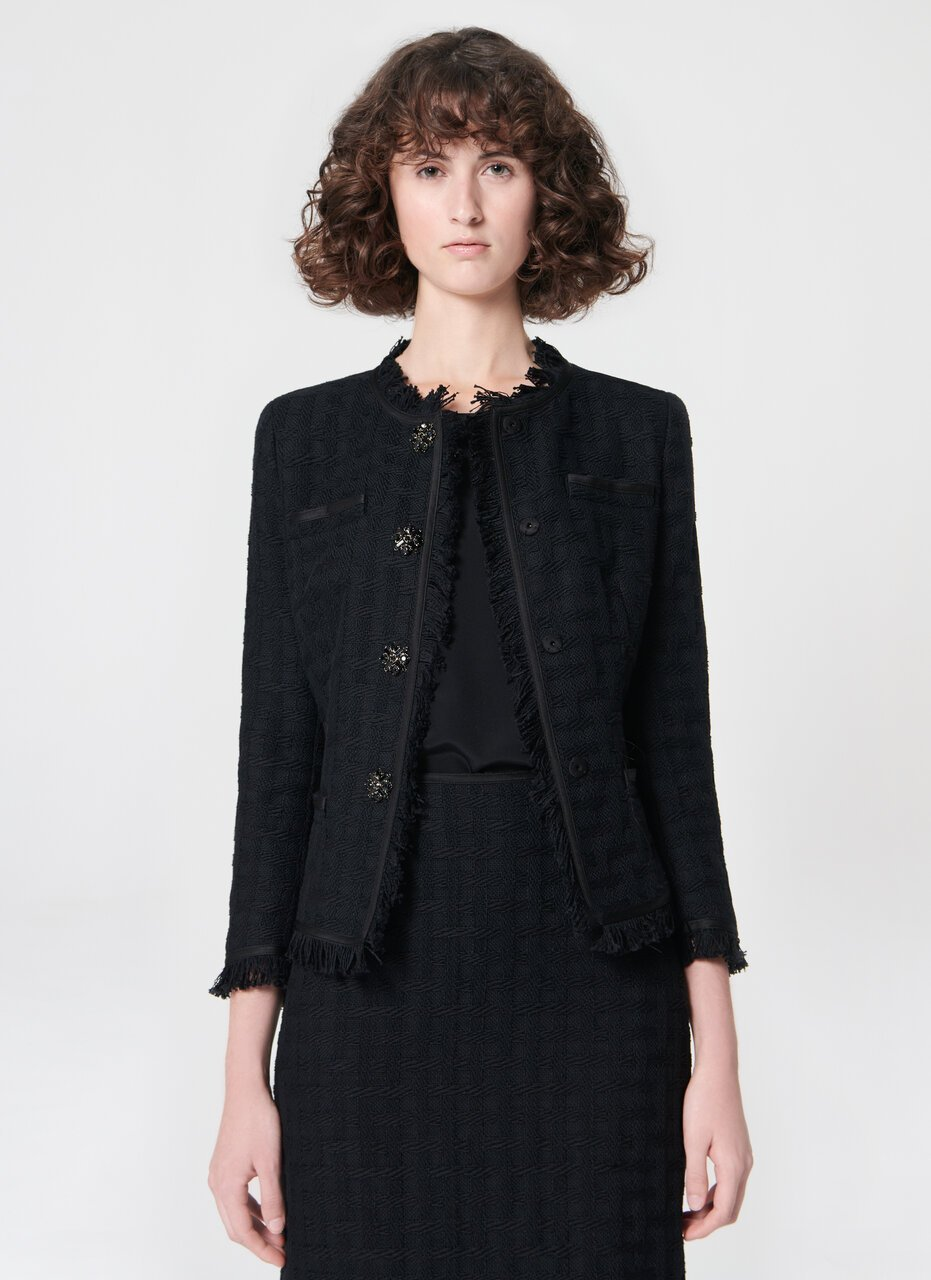 Highlight cotton tweed jacket - ESCADA