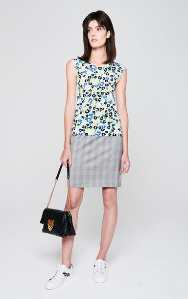 ESCADA Cotton Blend Printed Top