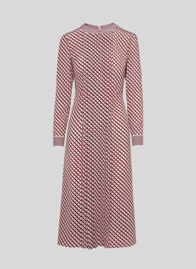 Printed silk shirtdress - ESCADA
