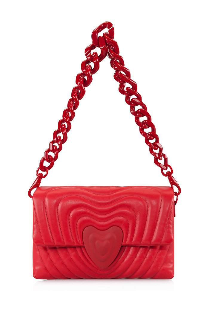 ESCADA Medium Heart Bag