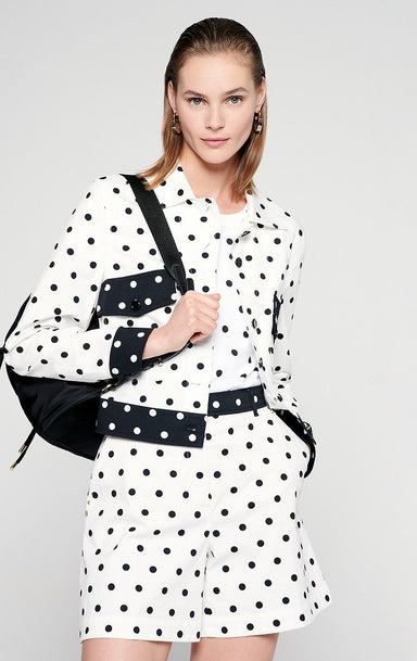 Cotton Polka Dot Jacket - ESCADA