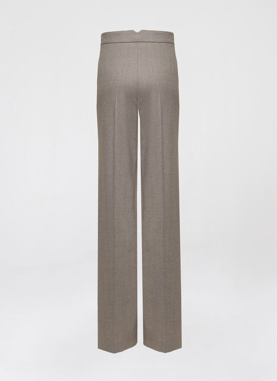 Classic Virgin Wool Pants - ESCADA