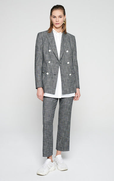 ESCADA Cotton Wool Check Pants