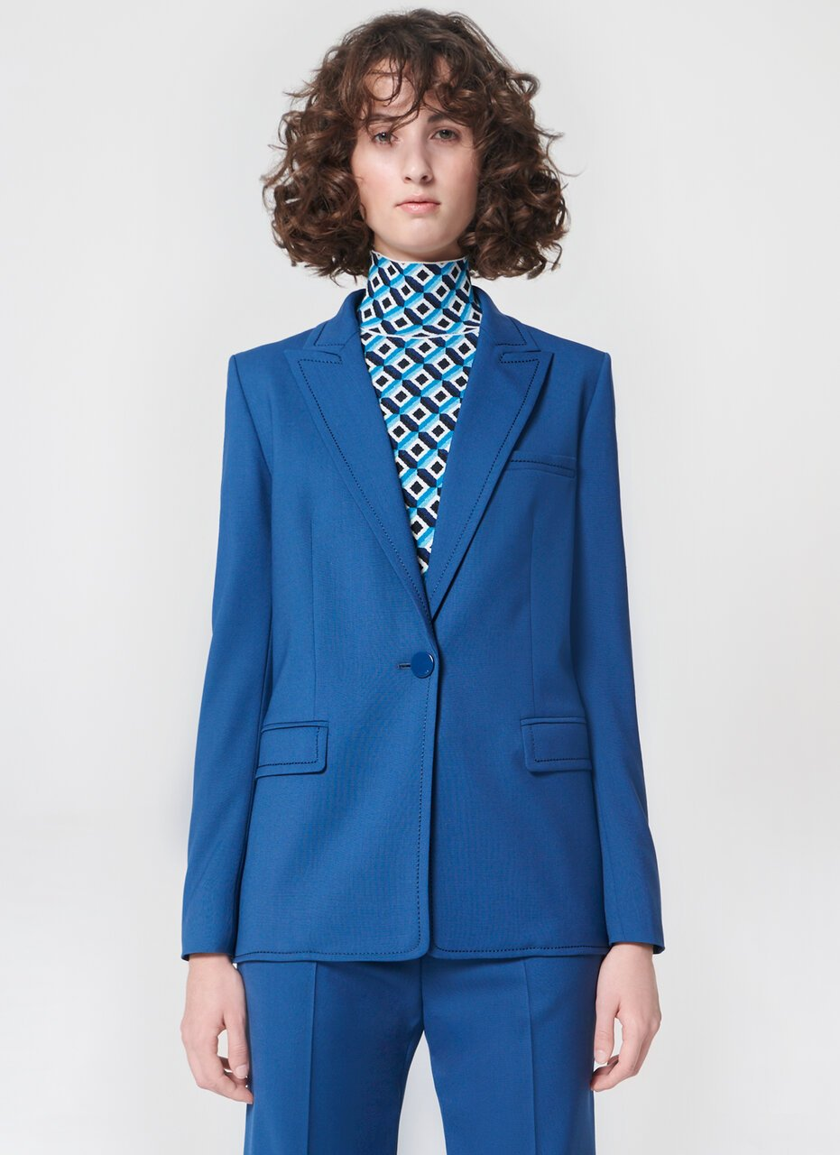 Wool stretch blazer - ESCADA