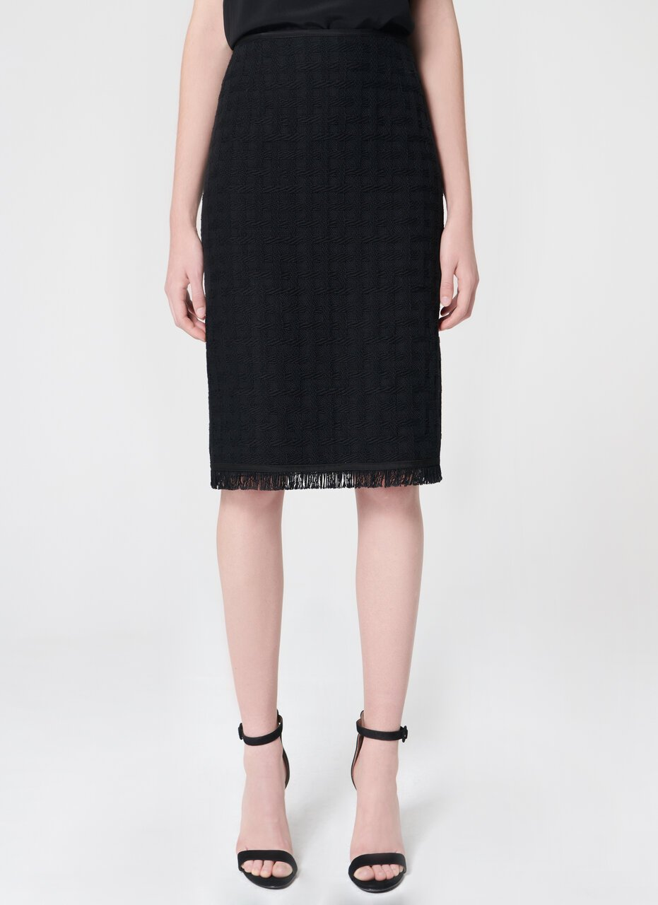 ESCADA Statement tweed skirt