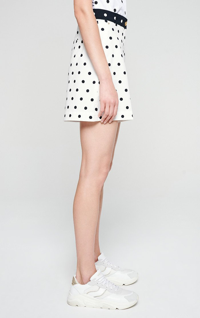 ESCADA Cotton Polka Dot Shorts