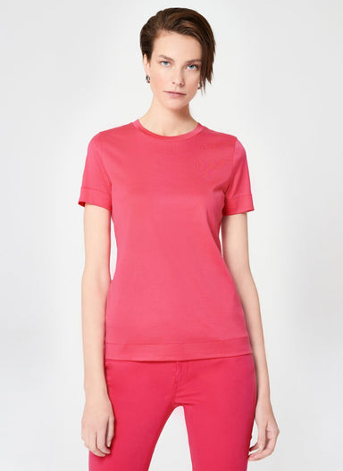 Basic Cotton T-Shirt - ESCADA