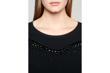 Crystal-Embellished Sweater - ESCADA