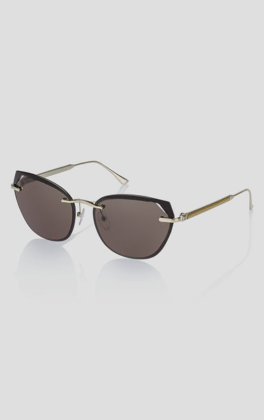 Oversized Cat-Eye Sunglasses - ESCADA