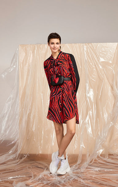ESCADA Printed Shirt Dress