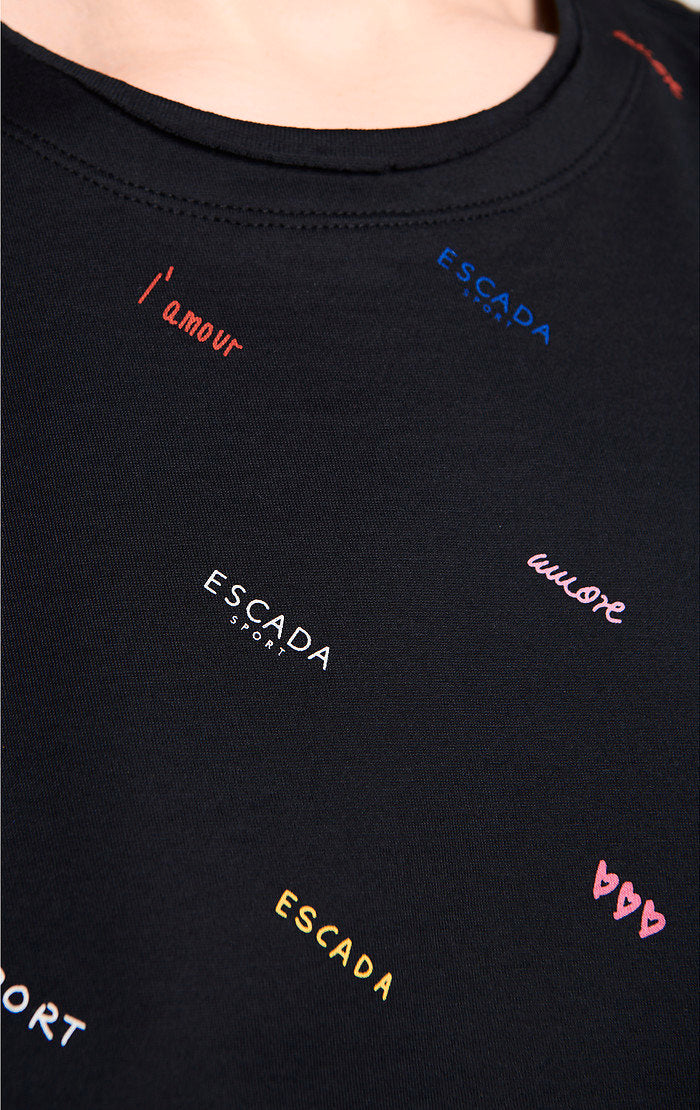 Logo Printed T-shirt - ESCADA