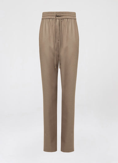 Virgin Wool Cashmere Drawstring Pants - ESCADA